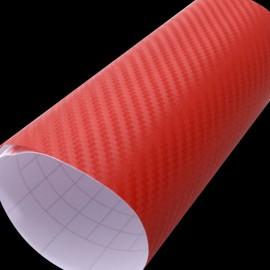 Carbone rouge 3D