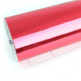 Vinyle CHROME CHERRY RED TECKWRAP