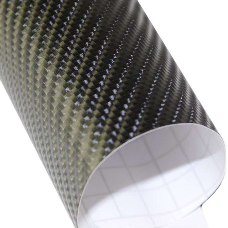 Vinyle Adhesif Carbone 4d Brillant Thermoformable Covering