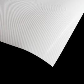 Carbone blanc 4D brillant